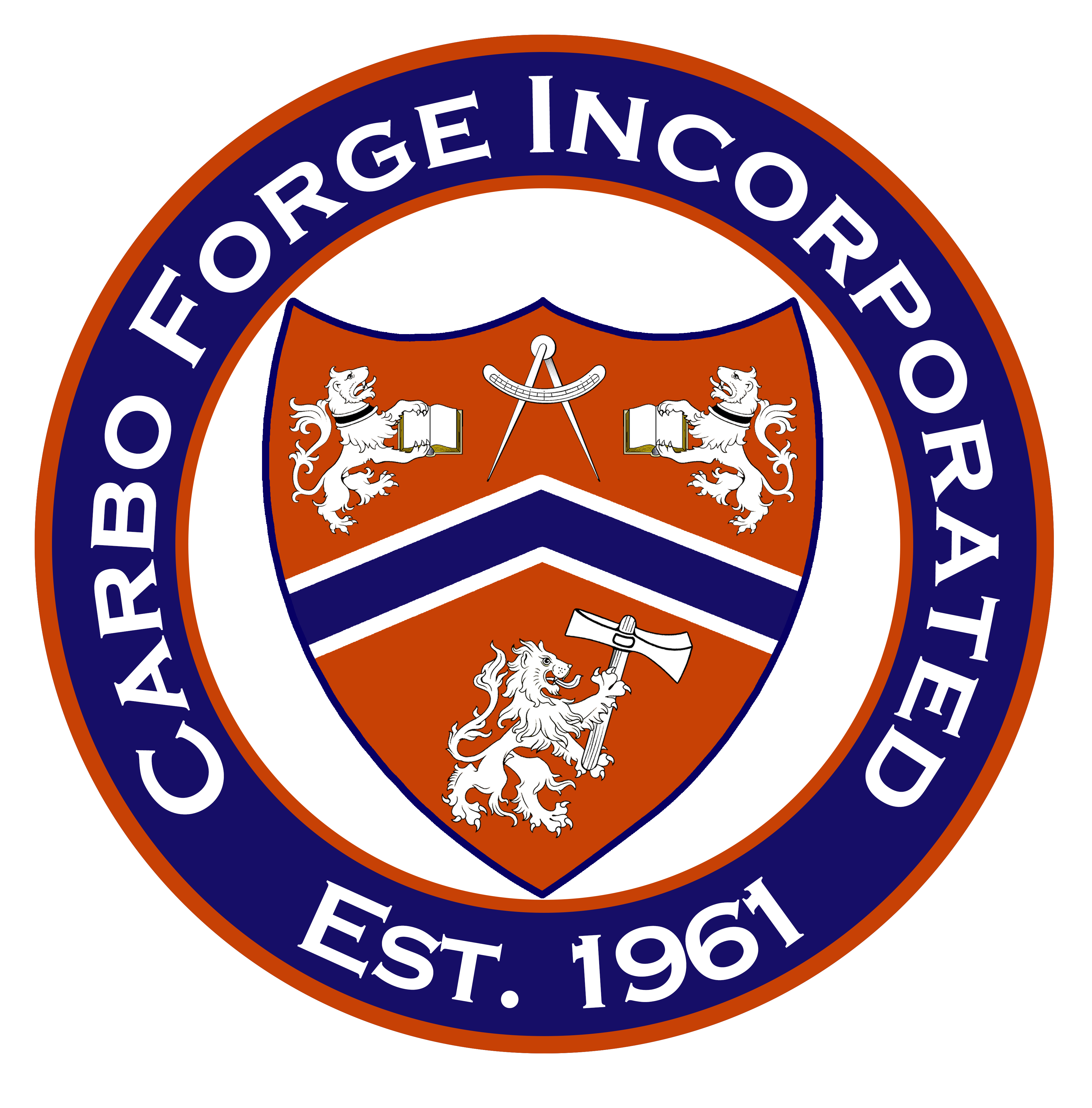 Carbo Forge Inc. Seal Logo
